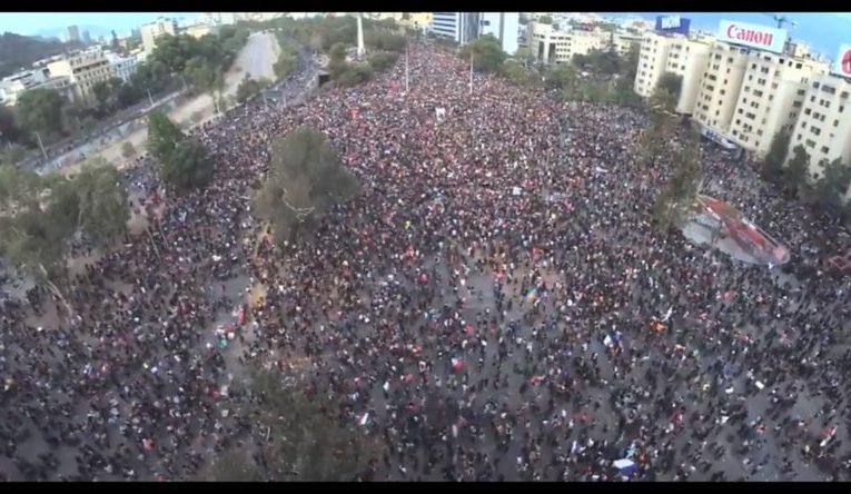 Fuerte sismo en Chile en medio de las masivas marchas contra Sebastián Piñera