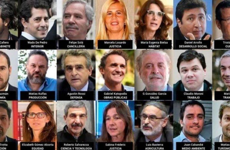 El Gabinete de Alberto Fernández