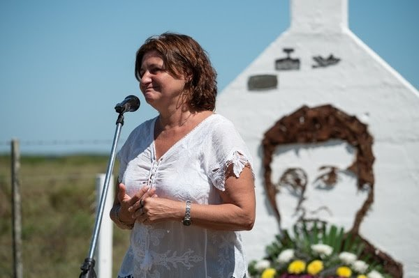 Con gran emotividad, recordaron a José Luis Cabezas en el lugar de su asesinato