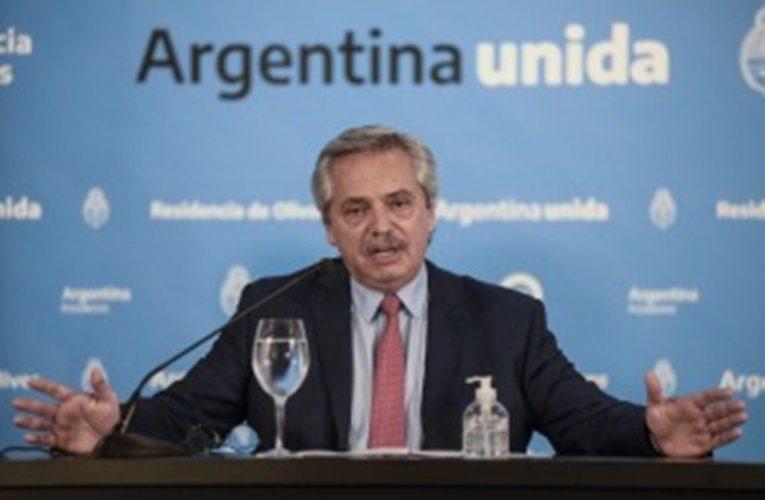 Alberto Fernández anunció extensión del aislamiento hasta que termine Semana Santa