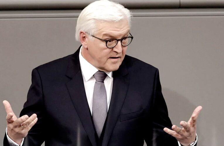 """El presidente alemán califica las protestas de ayer como un """"ataque al corazón de la democracia"""