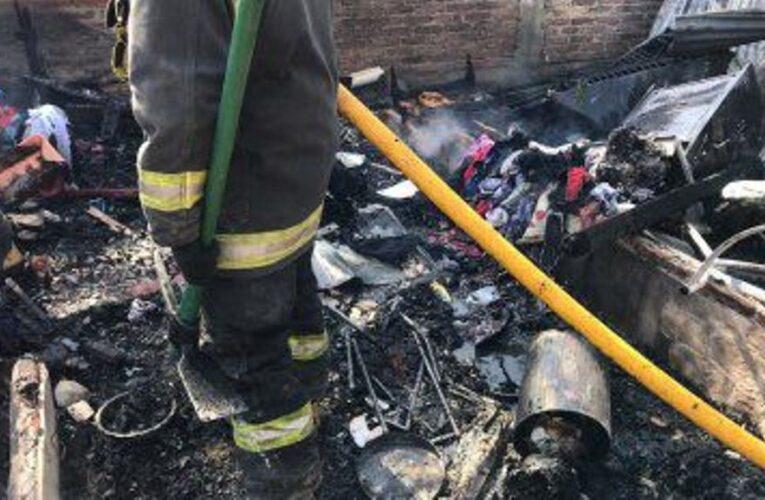 Incendio fatal en Glew terminó en tragedia