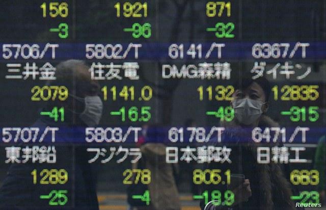 Mayoría de alzas en los principales mercados bursátiles del mundo