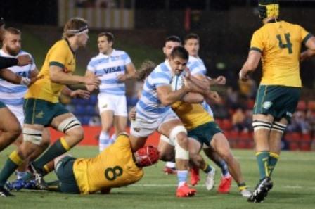 Trabajoso y meritorio empate de Los Pumas ante Australia 15 a 15