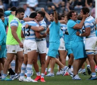 Los Pumas y un triunfo histórico: por primera vez vencen a los All Blacks por 25 a 15
