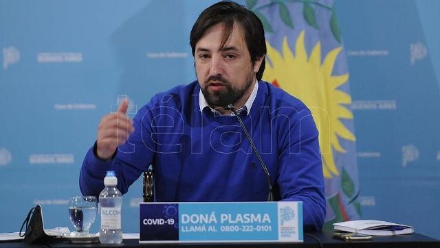 """Kreplak ratificó que en febrero comenzará """"la vacunación en territorio"""""""