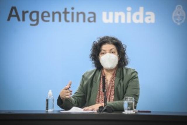"Coronavirus: Vizzotti advierte sobre ""momento crítico"" y pide salir sólo para prioridades"