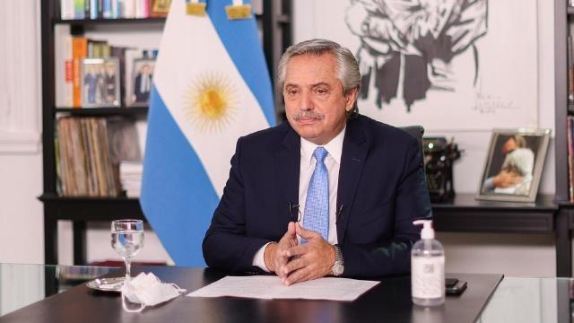 Alberto Fernández agradeció a China la colaboración con Argentina en la pandemia