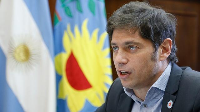 """Kicillof: """"Estamos resolviendo el problema de deuda que generó Vidal"""""""